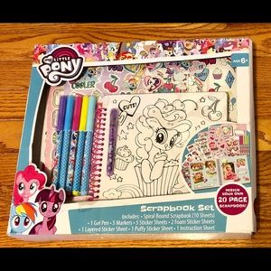 My Little Pony Design Own Scrapbook Sticker Set